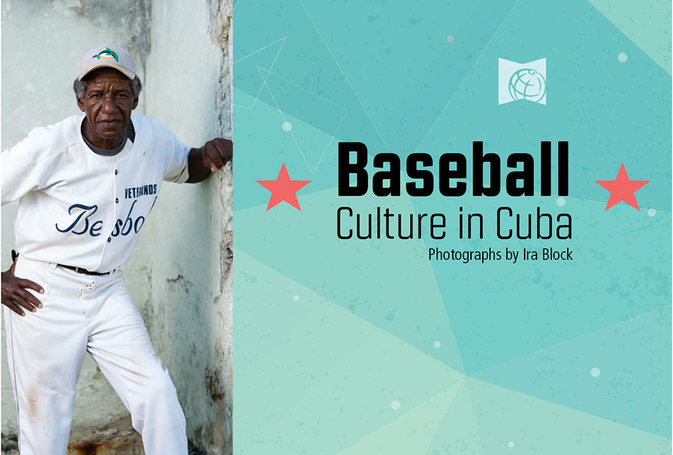 Promotional materials from our Baseball: Culture in Cuba exhibit