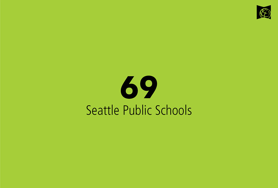 69 Seattle Public School District elementary schools participated