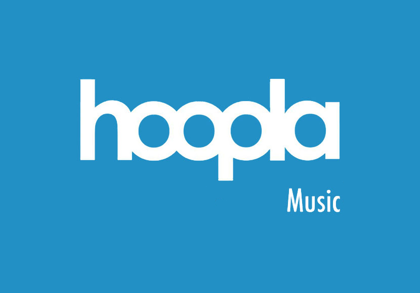 Hoopla music logo