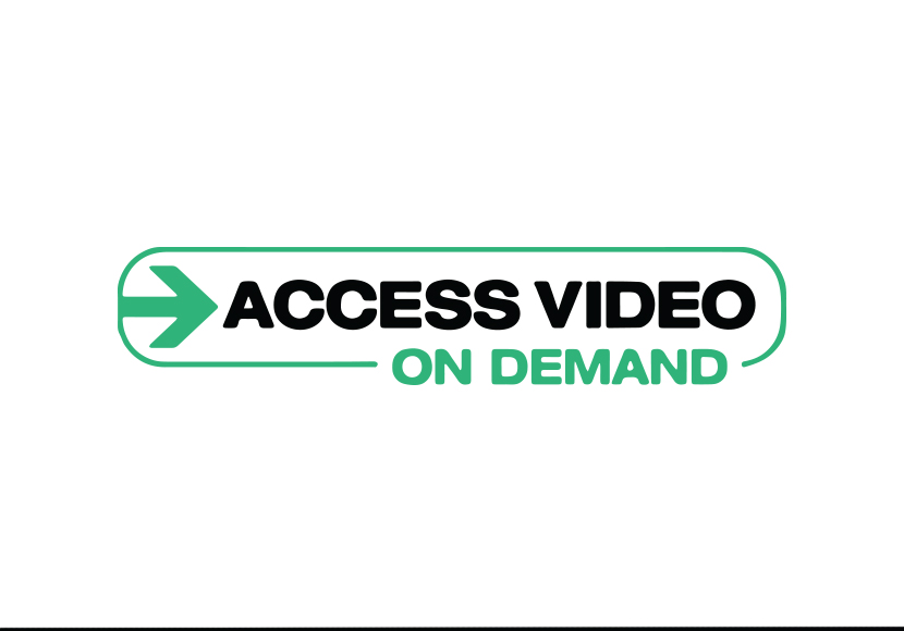 Access video logo