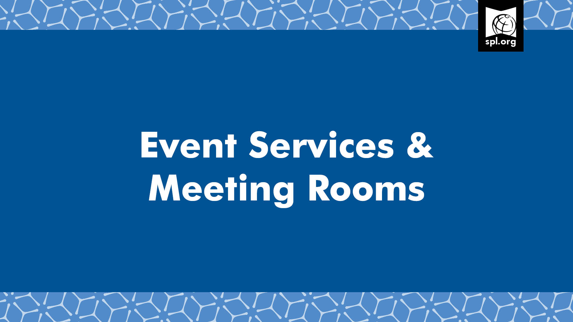 Event services and meeting rooms graphic