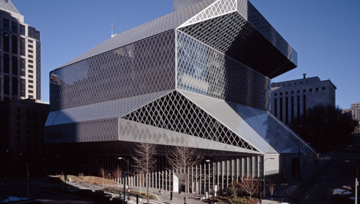 Exterior view of the Central Library