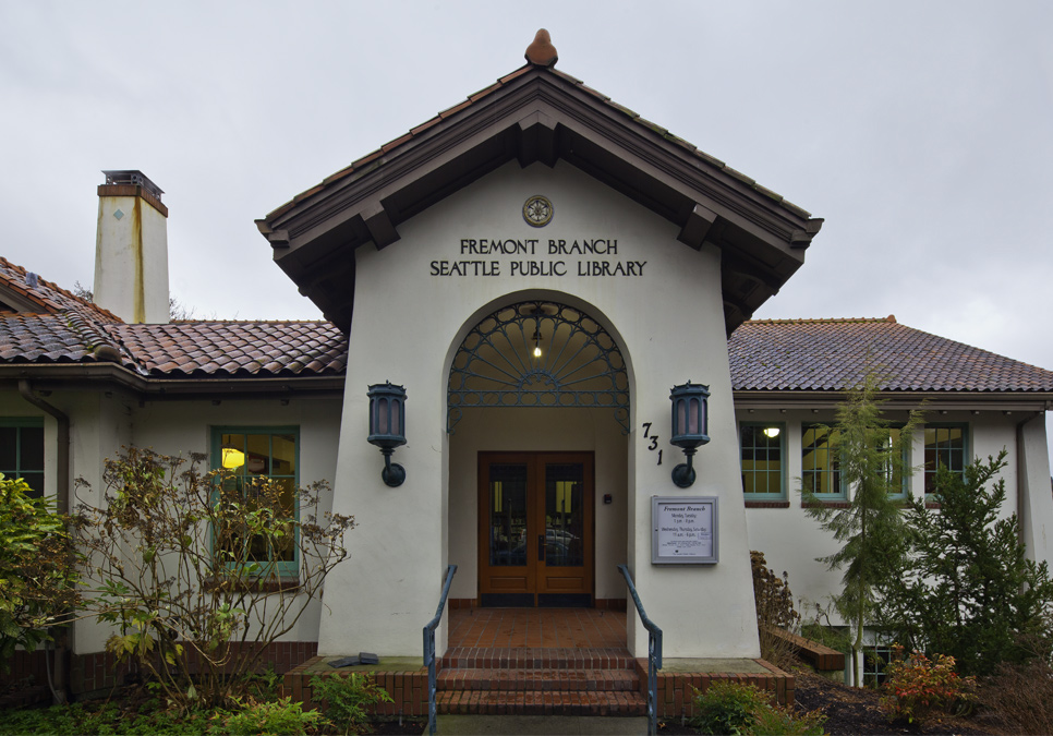 Exterior view of the Fremont Branch