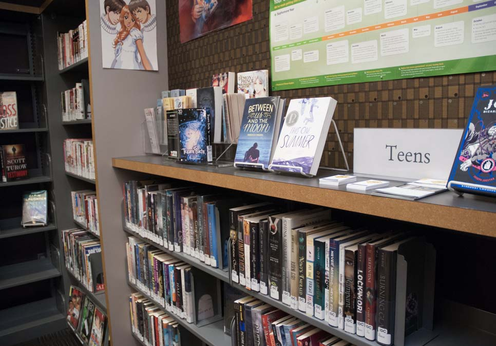 Teen area at the International District/Chinatown Branch