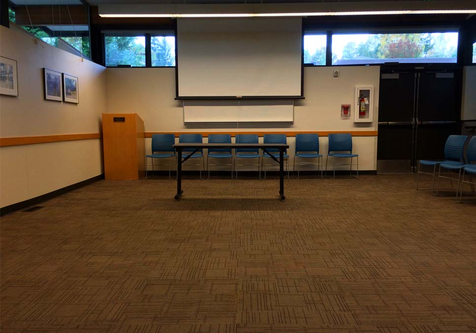 Meeting room area at the Northeast Branch