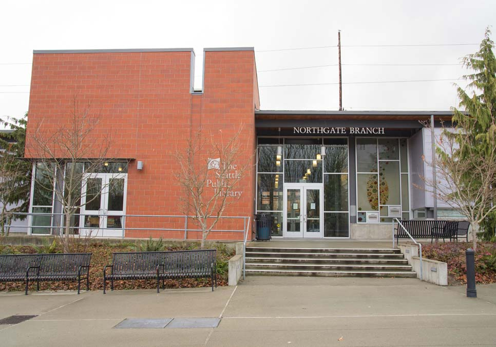 Exterior view of the Northgate Branch