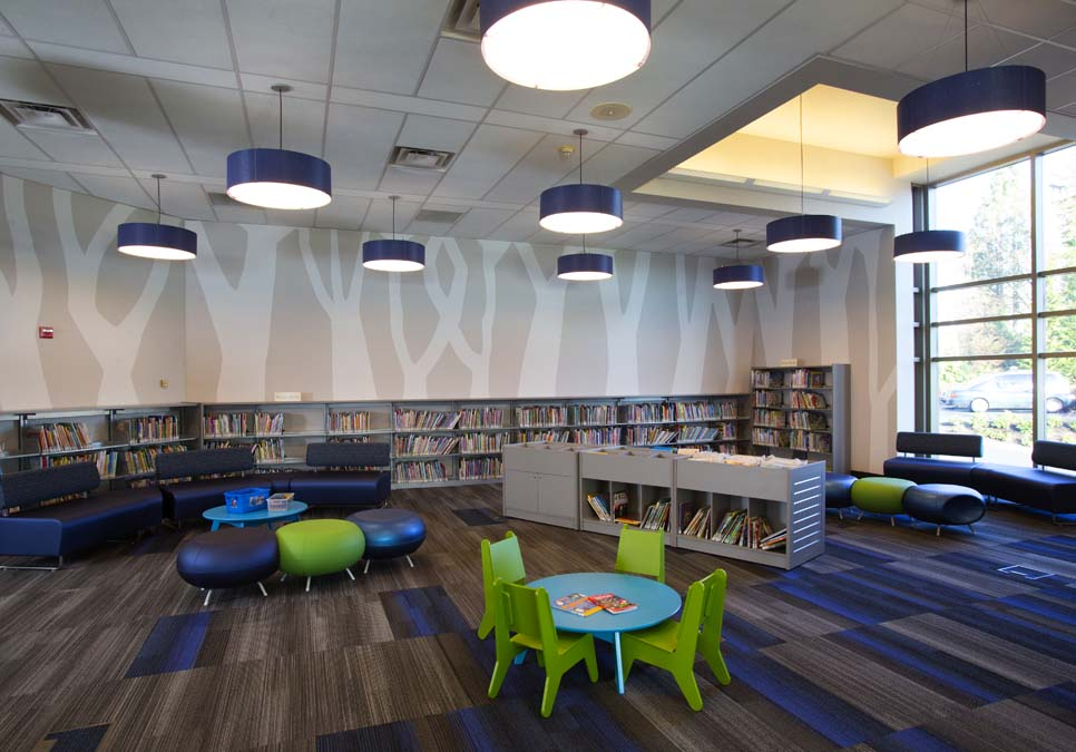 Children's area at the Rainier Beach Branch