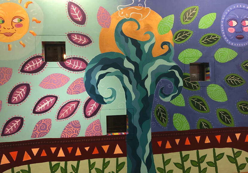 Mural at the South Park Branch