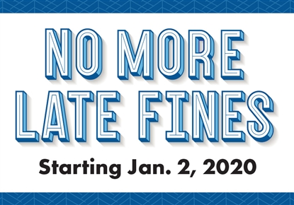 No More Late Fines graphic