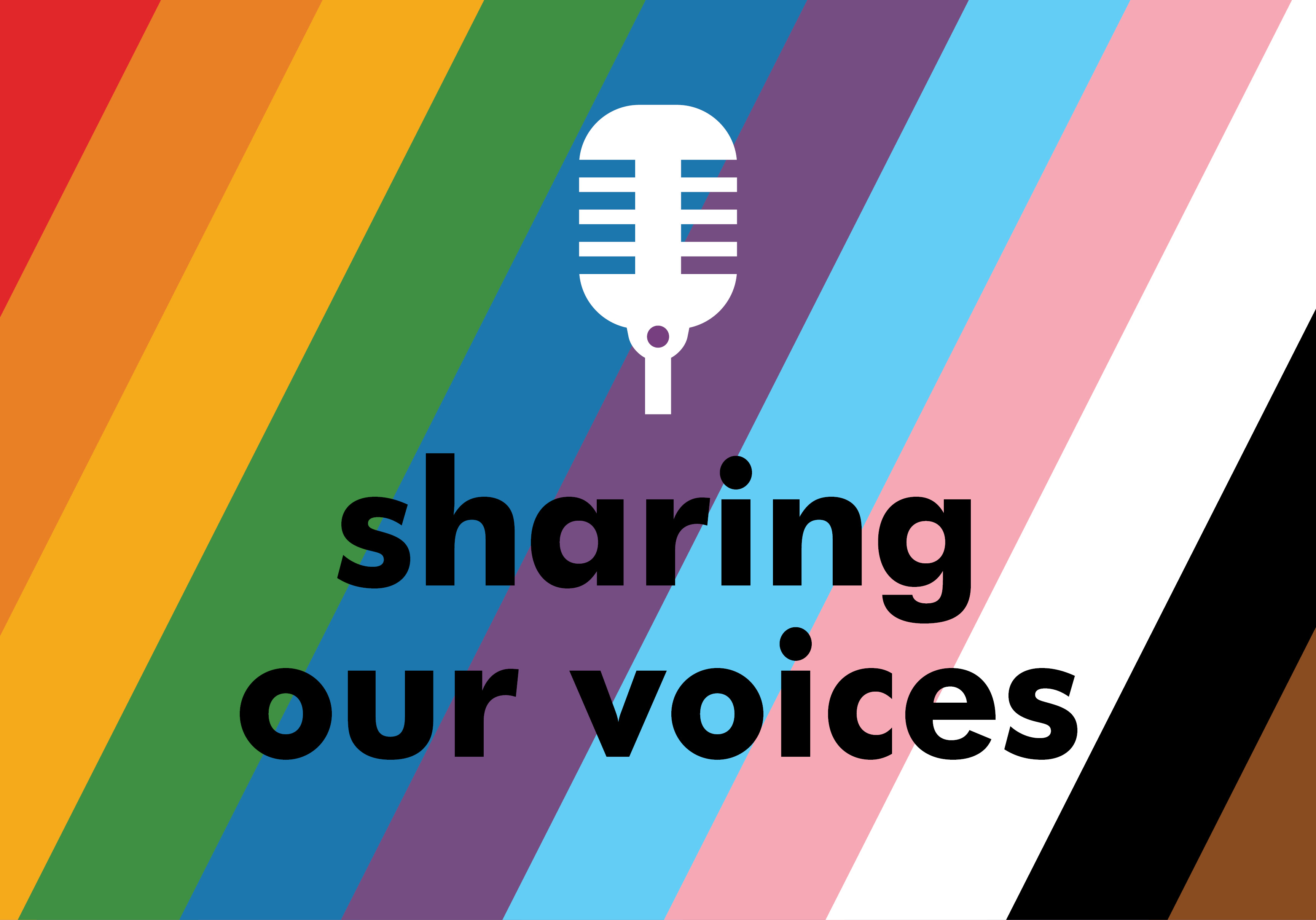 Sharing our Voices graphic