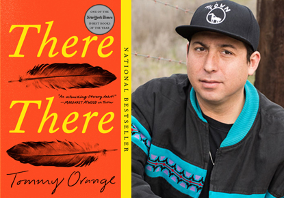 Book cover of There There and author Tommy Orange