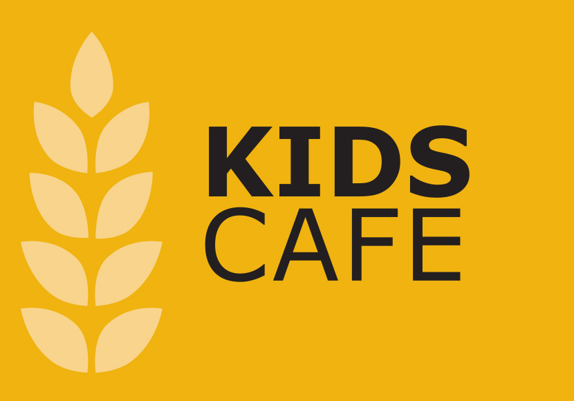 Kids Cafe sign