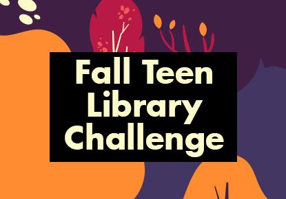 Fall Teen Library Challenge card image