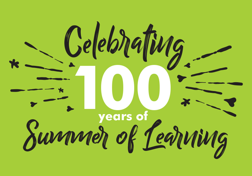 Celebrating 100 Years of Summer of Learning