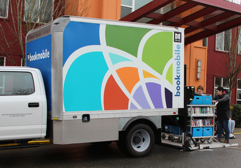 new SPL bookmobile