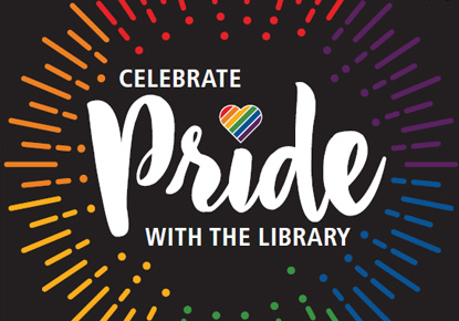 celebrate pride with the library