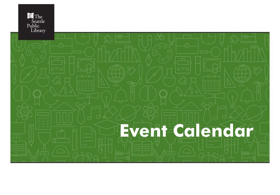 "green screen with the words ""Event Calendar"""